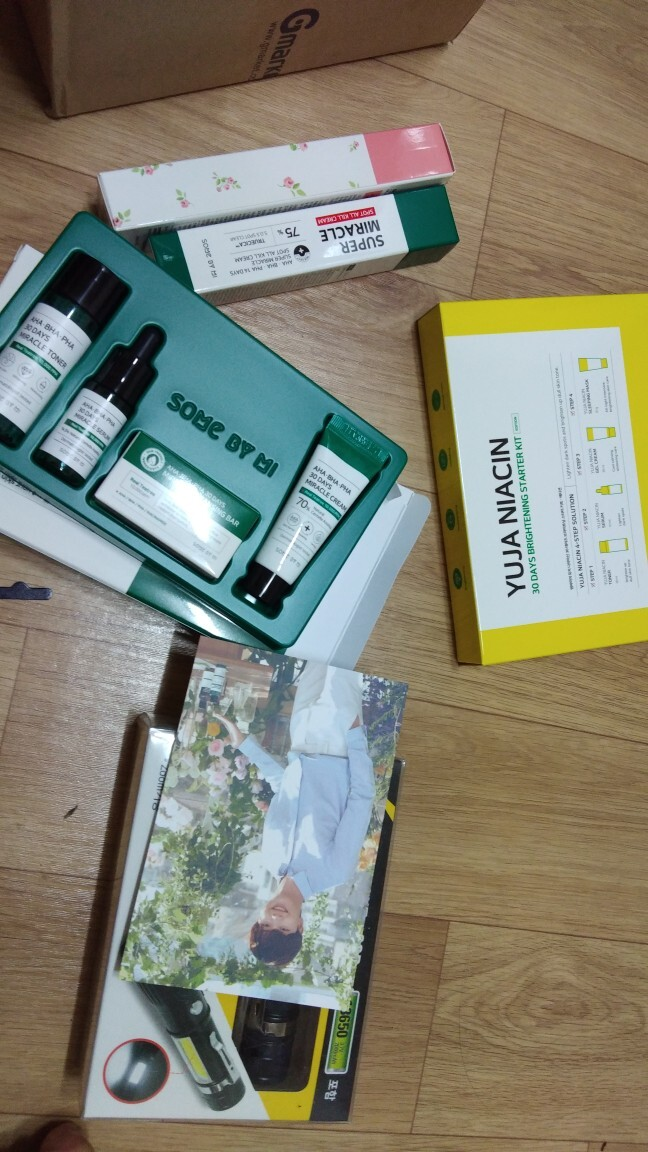 Review Some By Mi Yuja Niacin Starter Kit : review, niacin, starter, Gmarket, MI/Rose/Intensive/TONE-UP, CREAM, 50ml/Whitening