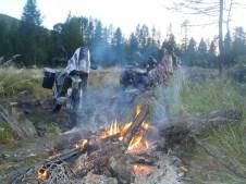 Camping on the Tenkinskaya Track