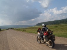 Lena river ride from Zhigalovo.