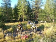 1st Campsite on the Tenkinskaya Trakt
