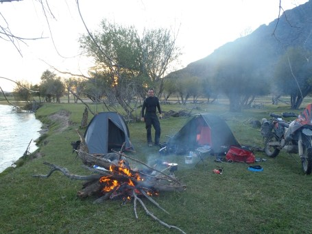 2nd campsite in Mongolia.