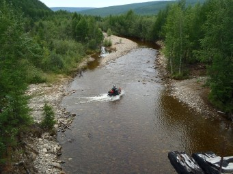 BAM river crossing.