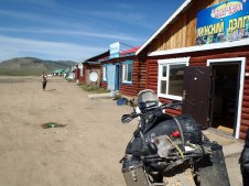 Cafe in Mongolia.