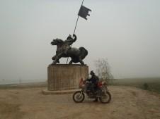 Statue on M56 on the way to Yakutsk