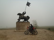 Statue on M56 on the way to Yakutsk