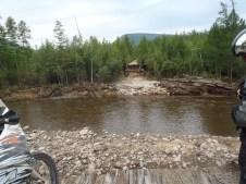 Missing bridge BAM between Tynda and Chara.