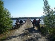 After the Vitim bridge crossing.