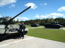 War Memorial Tanks.