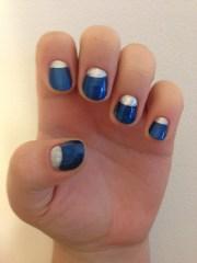 easy moon manicure tutorial
