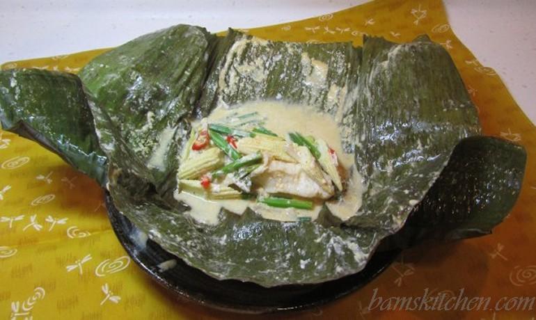 Tropical Banan Leaf Fish