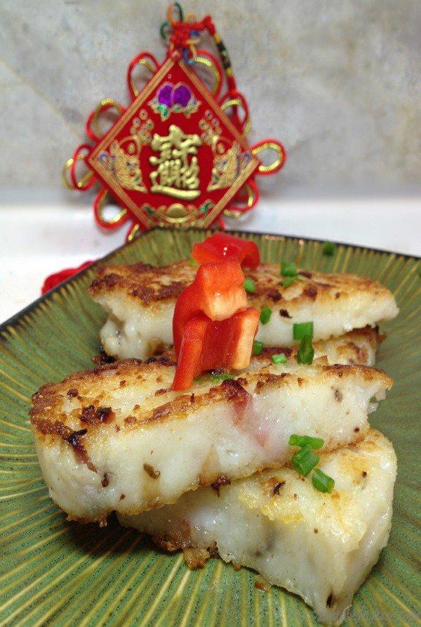 Chinese radish New Year Cake - Bam's Kitchen