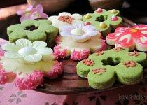 Sakura Shortbread Cookies