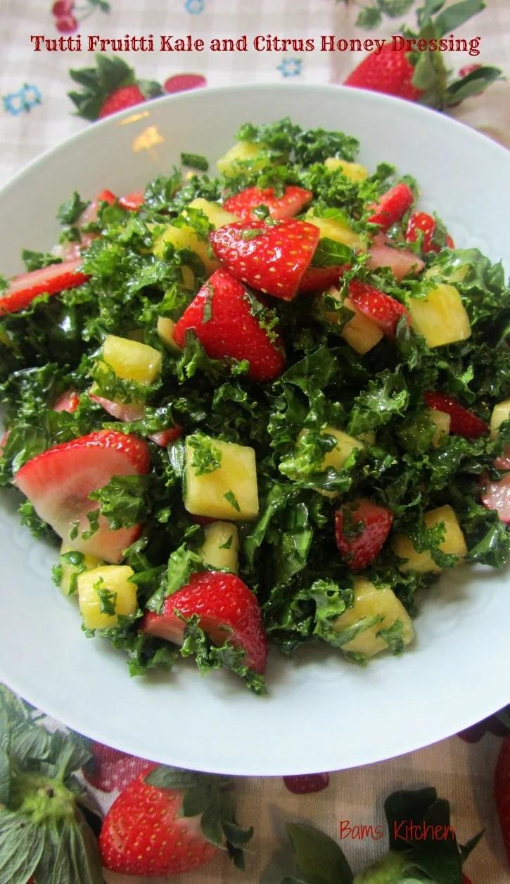 Tutti Fruitti Kale abd citrus honey dressing_IMG_6164