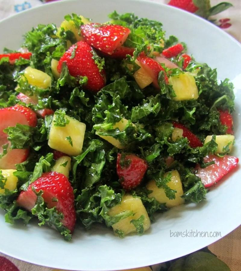Tutti Fruitti Kale abd citrus honey dressing_Square_water_IMG_6159