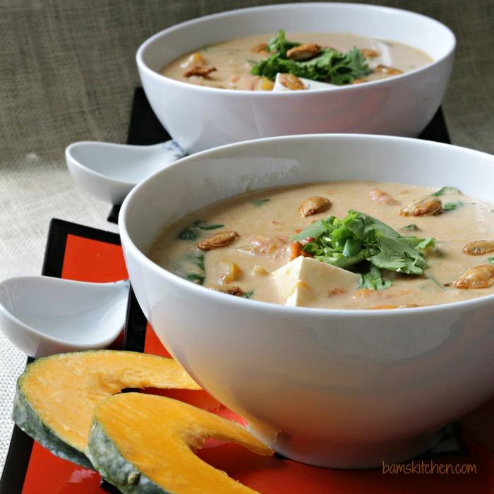 Satay Kobacha Curry-Bam's Kitchen