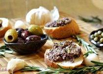 Rosemary and Garlic Infused Olive Tapenade