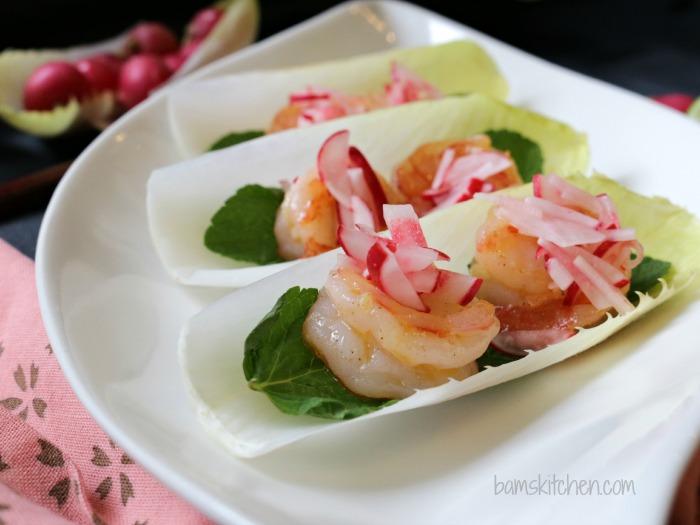 Shrimp Boats with Pickled Radish_Bam's Kitchen