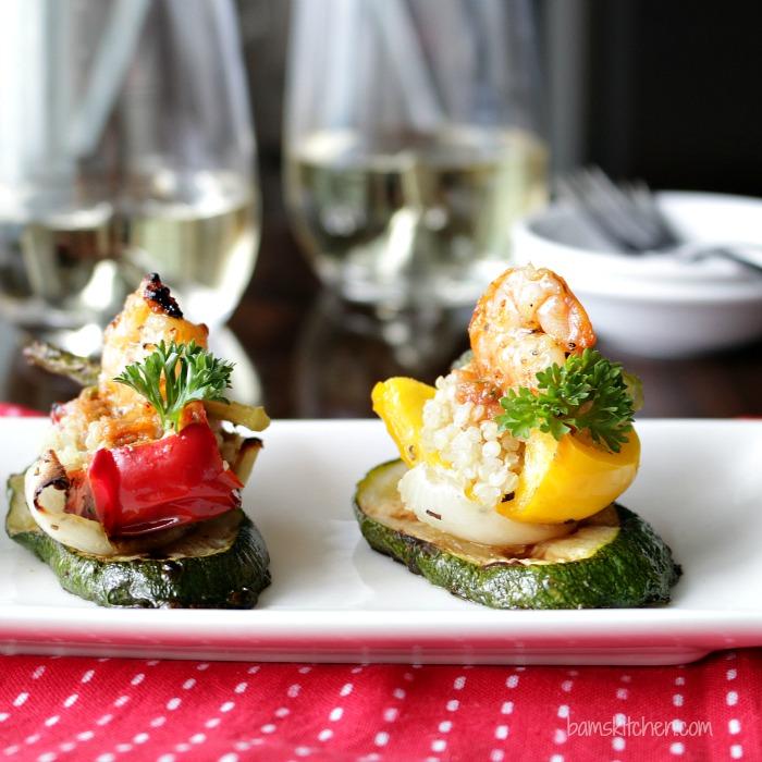 Flame Kissed Tomato Pesto Tapas / http://bamskitchen.com