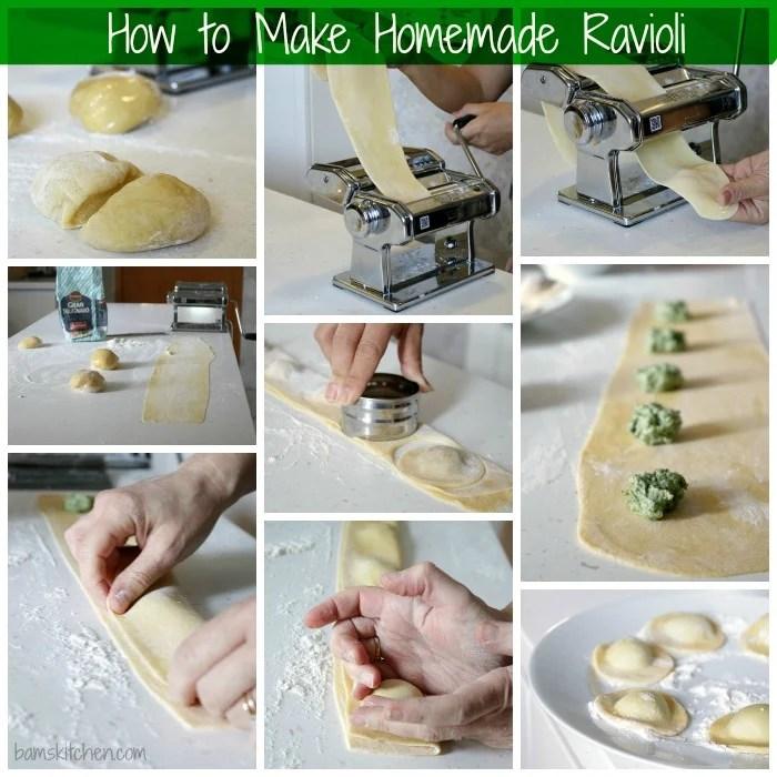 How to Make Homemade Ravioli / http://bamskitchen.com