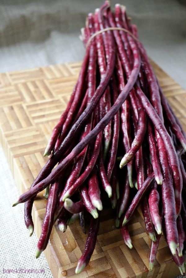 Adobong Pulang Sitaw Long RED Beans/ http:bamskitchen.com