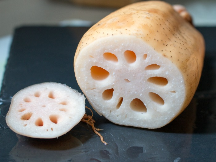 Braised Orange Anise Lotus Root / http://bamskitchen.com