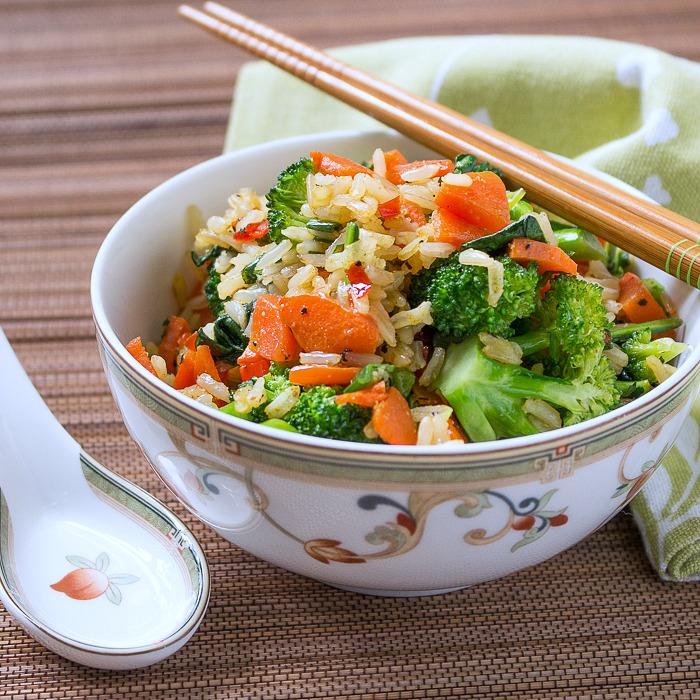 Vegan Curried Rice/ http://bamskitchen.com