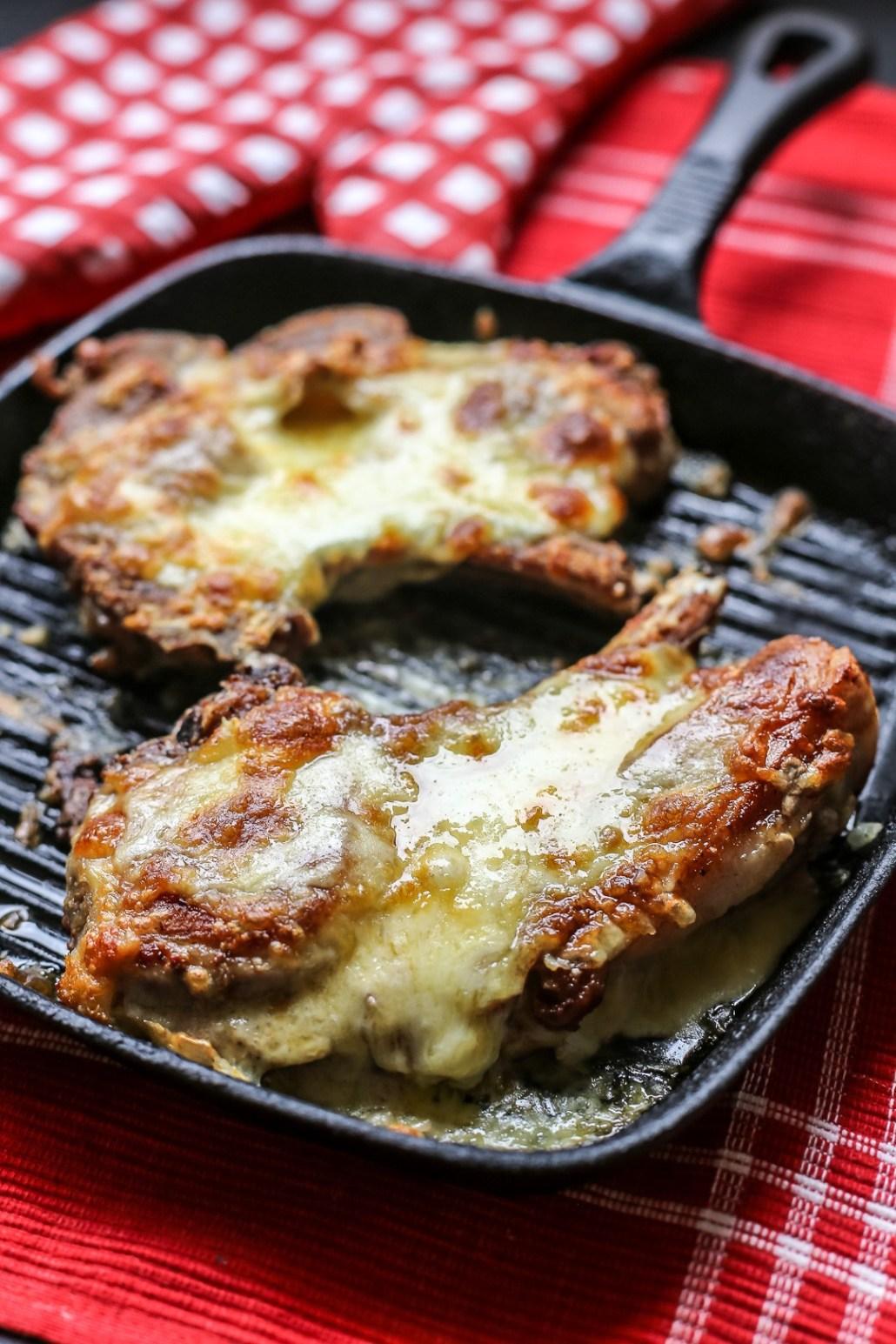 Cheese Stuffed Pork Chops/ Ang Sarap/ http://bamskitchen.com