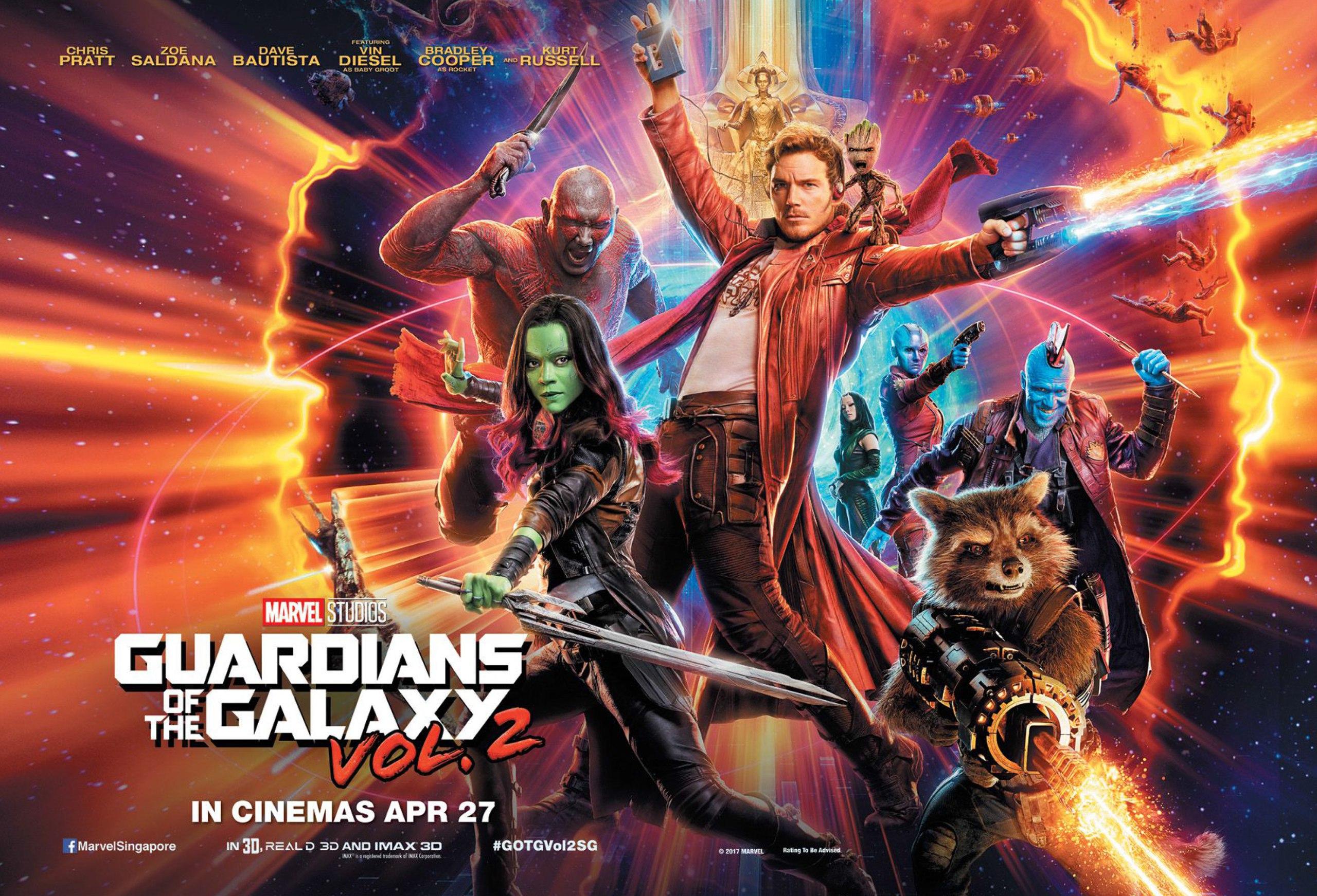Znalezione obrazy dla zapytania guardians of the galaxy vol 2
