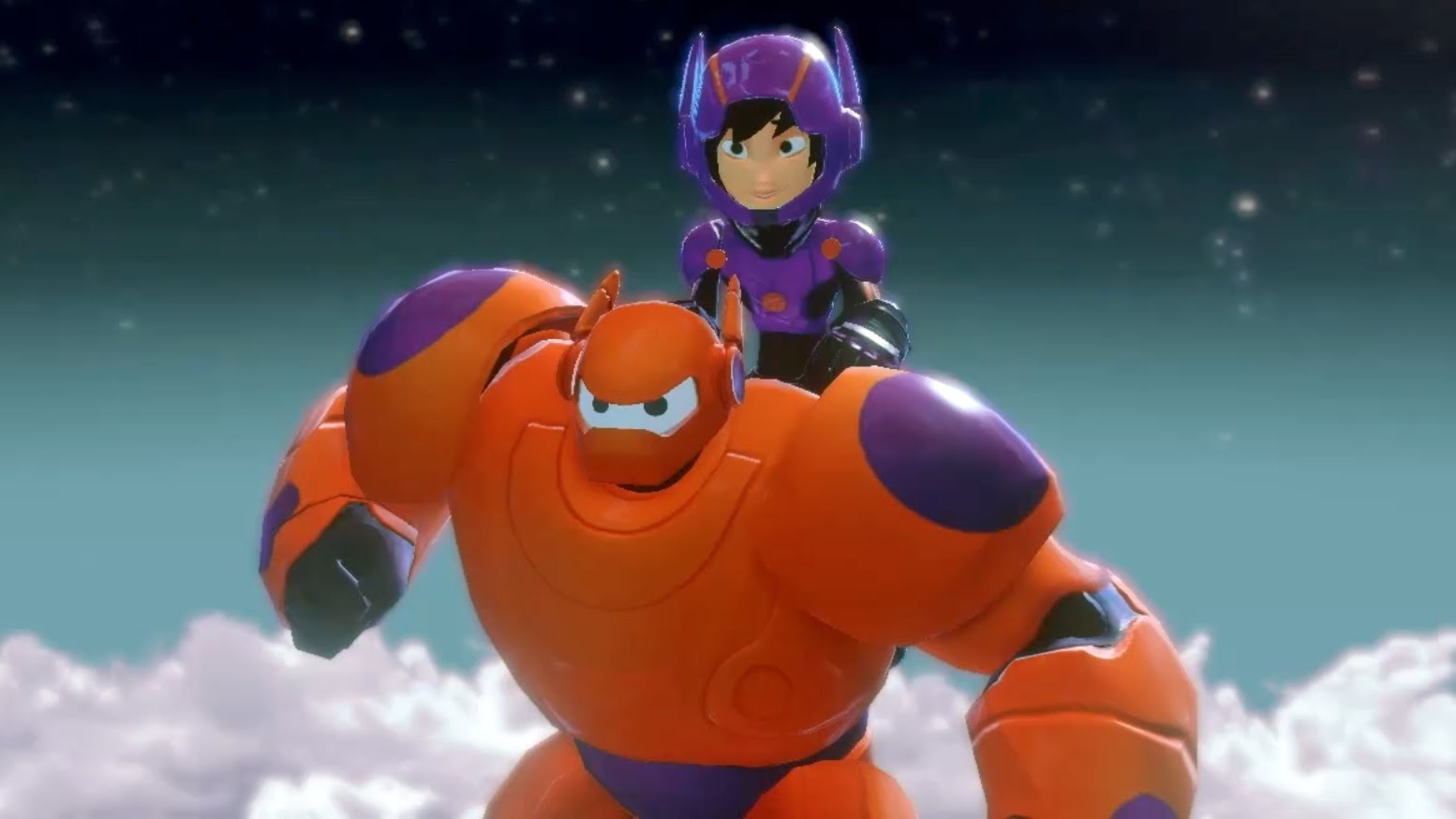 Disney Infinity Marvel Super Heroes Baymax Hiro And