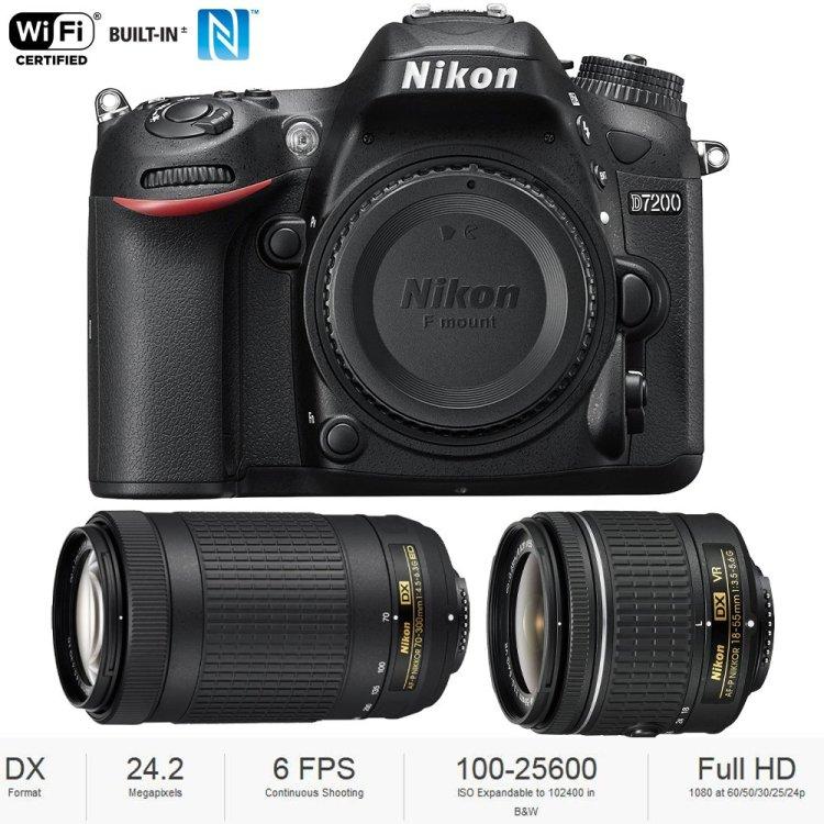 Click to view the Nikon 7200