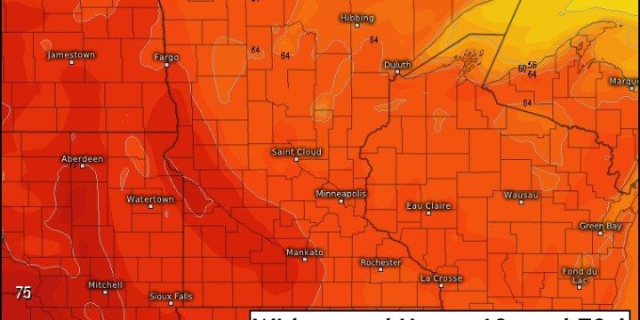 10-16-17 Minnesota Forecast: Great Harvest Weather This Week, Next Rain Chance Next Weekend. E.