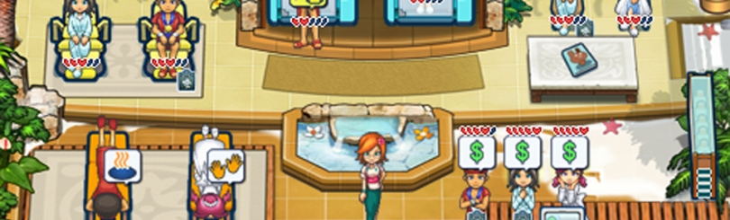 List Of Characters In Sallys Spa Gamewise