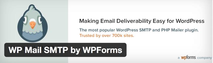 WP Mail SMTP by WPFormsのダウンロード画面