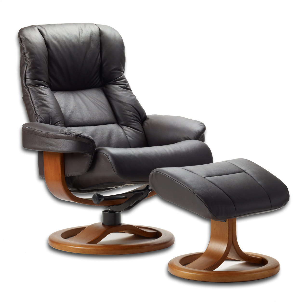 ergonomic chair and ottoman pedicure no plumbing fjords oslo swing relaxer zero gravity recliner nl130