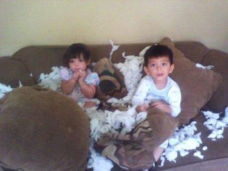 Детки любят пошалить