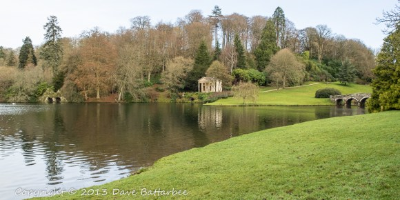 The Temple of Flora and The Palladian Bridge, Stourhead