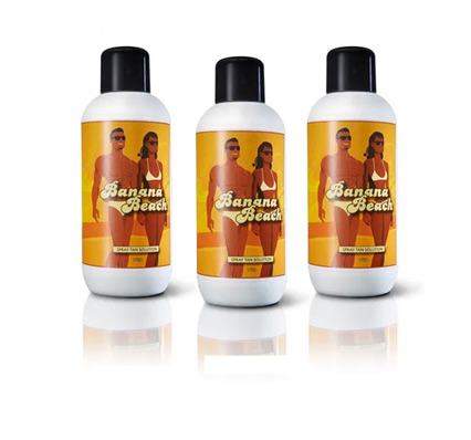banana beach lotion for salons