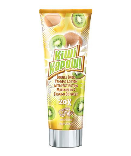 kiwi-kapow tanning lotion from fiesta sun