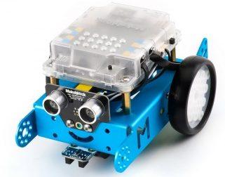 Robot controlado con el botón de la placa [mBot]