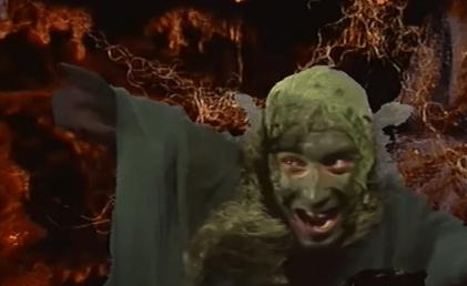 Caracterización de Gollum en la película Khraniteli.