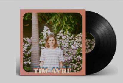 Portada del EP Modern life, de Tim Ayre.