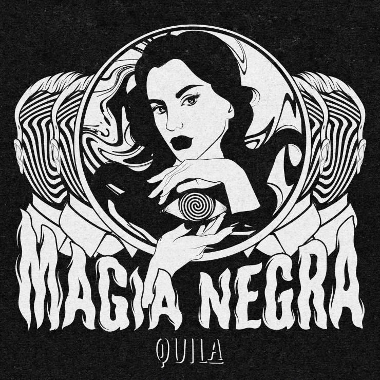 Portada del nuevo sencillo ''Magia Negra'', realizada por @idea.trader.