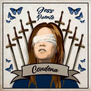 """Portada de """"Condena"""" de Jess Puente."""