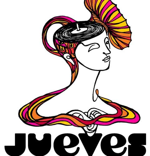 """Logo de """"Jueves"""", el primer sello de Mujeres en la Música en México. Bruja"""