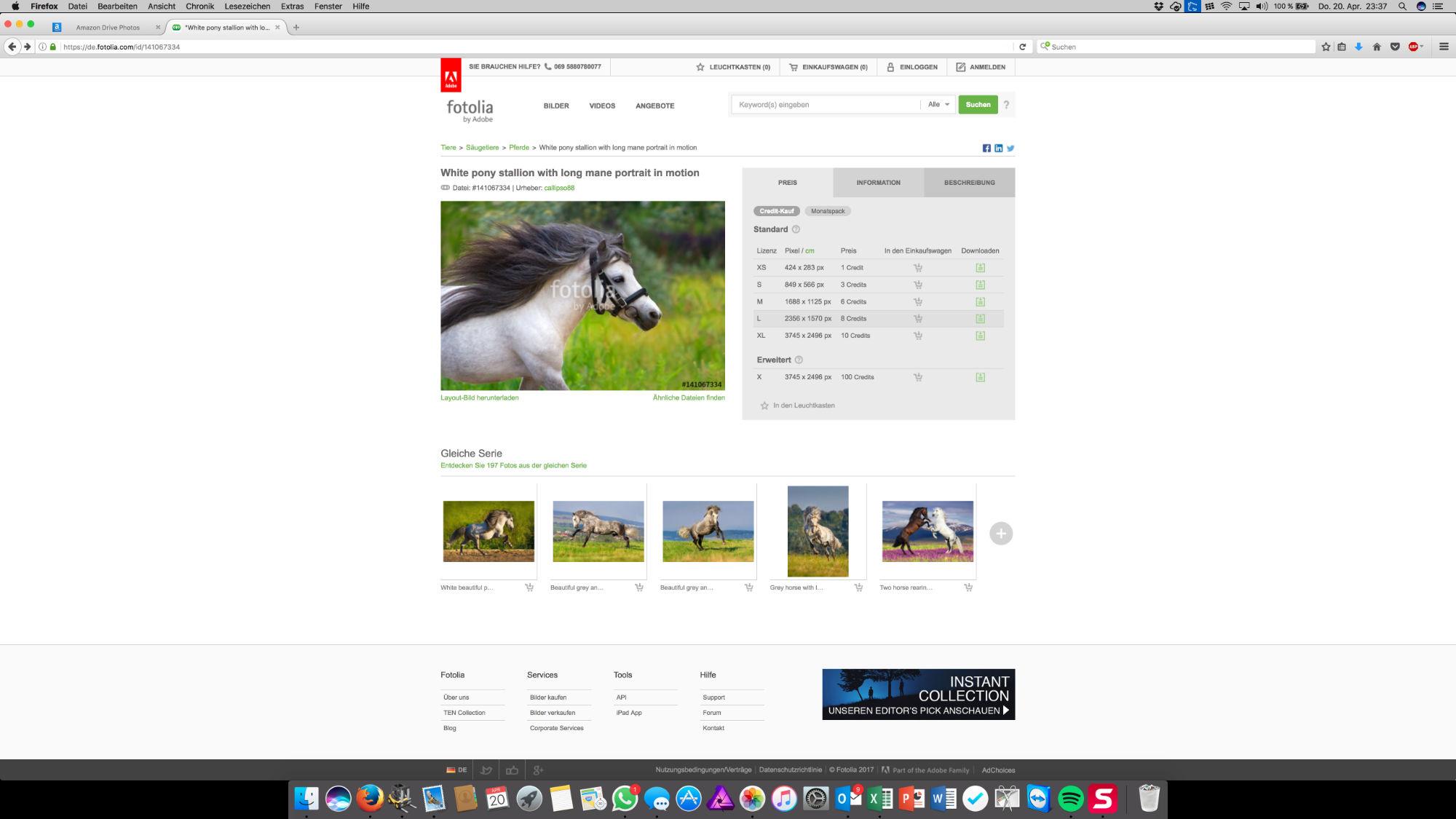 Bananapapa - Saal Digital Fotoleinwand - Fotolia Screenshot