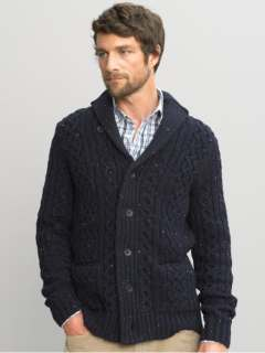 Banana Republic Cableknit Tall Cardigan