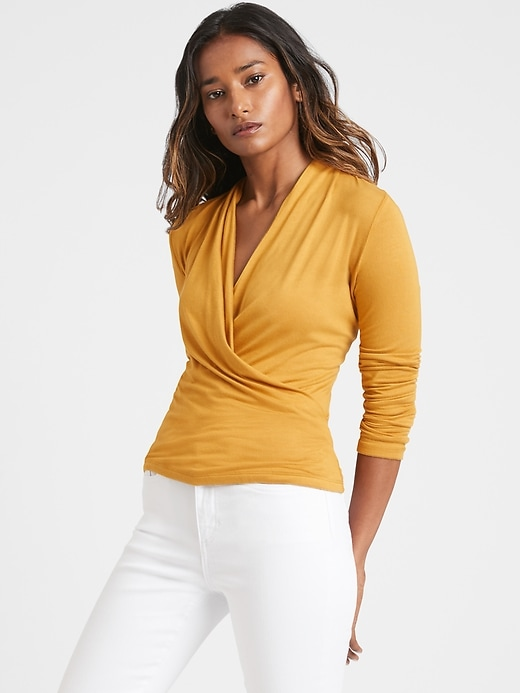 Threadsoft Wrap Top
