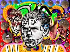 """""""Il mistero di Kippen Kur"""" - (b)ananartista orgasmo Sbuff - digital art"""