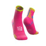 PRO RACING SOCKS V3.0 RUN HIGH FLUO PINK-1