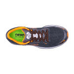Newton Men's Gravity 8 Charcoal Orange-2